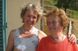 Gabi und unsere liebste Nachbarin: Tosca Benedetti