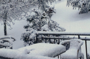 Winter 2010: Überraschung in der Toskana