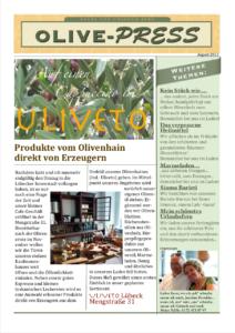 Podere Uliveto - Casore Del Monte - Porschke - Olive Press