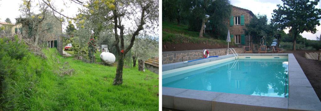 Pool Podere Uliveto - Casore Del Monte - Porschke