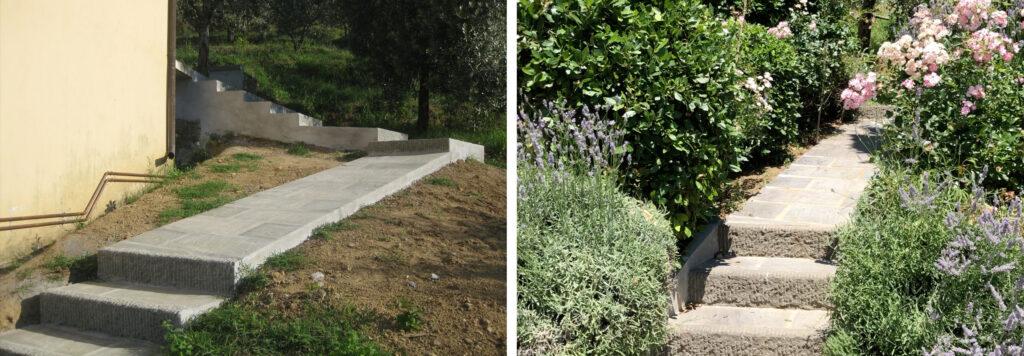 Garten Podere Uliveto - Casore Del Monte - Porschke