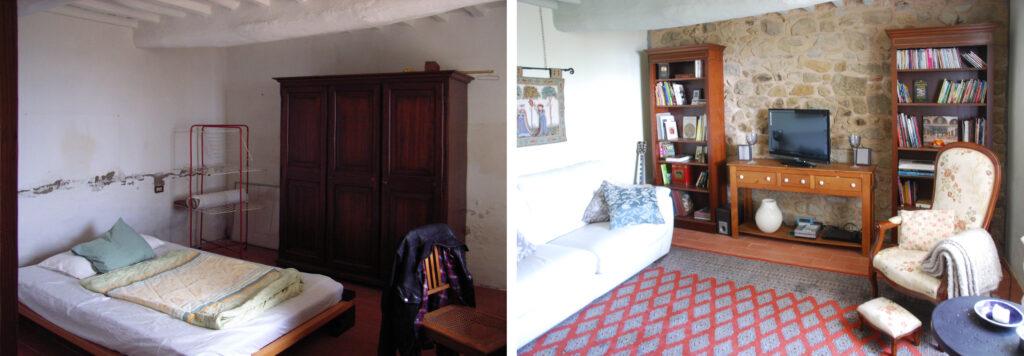 Wohnzimmer Podere Uliveto - Casore Del Monte - Porschke