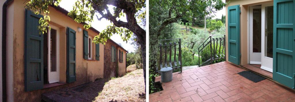 Terrasse Podere Uliveto - Casore Del Monte - Porschke